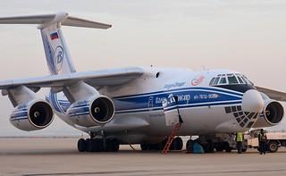 Volga-Dnepr IL-76TD RA-76951 at PVG/ZSPD