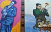 Double Dizzy (Trish Mayo) Tags: mural paintedwalls musician harlem dizzygillespie art