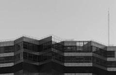 Lost weekend (Andy WXx2009) Tags: architecture minamalist sky modern blackandwhite glass buildings bilbao monochrome streetphotography structure shadows artistic espana spain europe windows urban cityscape skyline