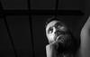 Ünsal Arik 2 (xfoTOkex) Tags: ünsal arik boxer portrait sparring boxing light black white monochrome nikon d800 indoor beard fight fighting training