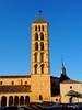 Torre de la iglesia de San Esteban, en Segovia. (lumog37) Tags: románico romanesque torres towers arquitectura architecture iglesia church
