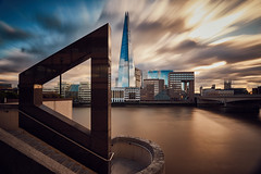 An angle on London (another_scotsman) Tags: shard london thames river longexposure cityscape sky architecture greatphotographers