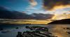 DSF_0574 (Juan J Martinez.) Tags: nikond7100 largaexposición mar rocas atardecer nubes estrechodegibraltar azul naranja levante filtrond