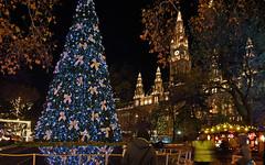 Christkindl Markt (karinrogmann) Tags: weihnachtsmarkt rathaus wien christmasmarket townhall vienna mercatinodinatale municipio