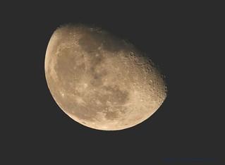 Waning Gibbous Moon........