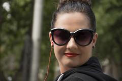 Bokeh (Paul Saad) Tags: people woman women pretty beautifull nikon bokeh street portrait close up smile road silke