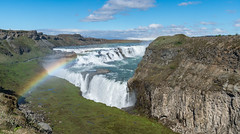 _DSC1059.jpg (David Hamments) Tags: rainbow waterfall iceland gulfoss