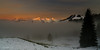 Coucher de soleil sur le brouillard (Switzerland) (christian.rey) Tags: péalpes gruyère fribougoises vanils coucher soleil sunset brouillard brume mist montagne mountain swiss fribourg chia sony alpha a7r2 a7rii 1635 myswitzerland