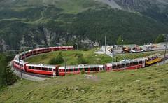 Alp Grüm 09.08.2017 (The STB) Tags: rhb rhätischebahn rhaetianrailways berninabahn berninalinie schmalspurbahn schweizerbahnen schweizereisenbahnen dieschweiz swissrailways swisstrains narrowgauge