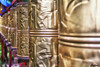 Golden bells -Basomtso National Forest Park, Tibet, China (cattan2011) Tags: 巴松措 西藏 中国 林芝 basomtso china nyingchi landscapephotography landscape nationalparks traveltuesday travelbloggers travelphotography travel monastery bells