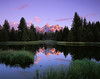 Teton Reflections (AlexBurke) Tags: wyoming grand teton national park rockies mountains landscape reflection film 4x5 large format velvia fuji sunrise