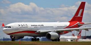 B-6546   Shanghai Airlines   MU738   MEL - PVG   Airbus A330-243   Melbourne International Airport   (MEL/YMML)
