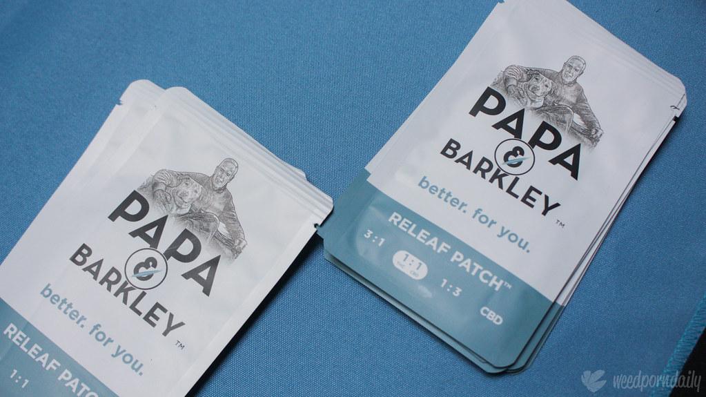Papa & Barkley - Releaf Patch