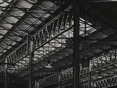 Deposito_Messina_1 (andreashoe) Tags: milan milano italy italia atm atmmilano porteaperteatm porteaperteatm2017 deposito soffitto ceiling iron glass acciaio vetro industrial bnw blackandwhite blackandwhitephotography scattipasseggeri transport publictransport city urbanphotography