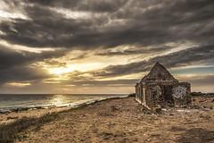 Ruinas de Zahora (F M Perez) Tags: ruinas zahora playa beach paisaje sunset puesta de sol amarna olympus 1240mm m43