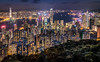 Victoria Harbor (davecurry8) Tags: hongkong victoriaharbor night victoriapeak lugardroad kowloon central