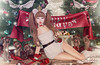 Happy Holidays! (Gabriella Marshdevil ~ BUSY IRL) Tags: arcade secondlife sl cute kawaii doll gacha ayashi hazy tsg blackbantam christmas holiday lolita jian