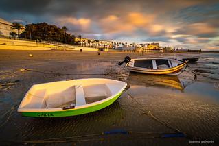 La barcas de la Caleta