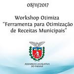 Workshop Otimiza - Ferramenta para otimização de receitas municipais