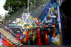 Graffiti Mainz - Main Street (Carandoom) Tags: 2017 mainz mayence allemagne germany deutschland grafity grafiti street photo photography color colorful paint painting voiture car