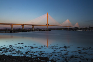 Queensferry Crossing at Sunrise
