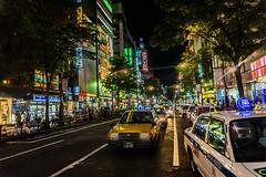 Sapporo (samstandridge) Tags: japan sapporo hokkaido nihon adventure asia travel city skyscrapers lights street cars taxi sam standridge sony alpha 6000 a6000 wow walk road reflection