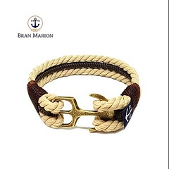 NEW!Introducing our Cowboy Bran Marion bracelet!Carefully handmade with yachting rope and our signature brass anchor. Available now on www.branmarion.com  #branmarion #fashion #style #fashionblogger #styleblogger #instafashion #instastyle #model #modeling (Bran Marion) Tags: vintage style instafashion styleblogger sailorbracelet cowboys oldschool brown fashionblogger ropebracelet anchor modeling streetstyle pulsera fashion classy armband luxury instastyle love instatag nauticalbracelet parisian chic paracordbracelet model branmarion