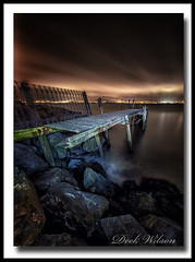 I'm Still Standing (Deek Wilson) Tags: holywoodjetty kinnegar belfastlough oldjetty woodenjetty nightshoot night afterdark northernireland holywood canon7dmkii longexposure