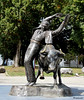 Olé ! (Milucide) Tags: statue bronze taureau féria dax aquitaine france toréro torero