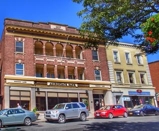 Saranac Lake  New York  - Adirondack Bank - Hasse Block  - 1906