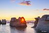 Monoliths of Île Nue de Mingan, Quebec, Canada (pixontrips) Tags: archipelago côtenord gulfofsaintlawrence longuepointedemingan mingan minganarchipelagonationalparkreserve canada island landscape monoliths nationalpark ocean park parkscanada quebec rock sky water îlenuedemingan