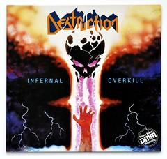 A0469 DESTRUCTION Infernal Overkil (vinylmeister) Tags: vinylrecords albumcoverphotos heavymetal thrashmetal deathmetal blackmetal vinyl schallplatte disque gramophone album