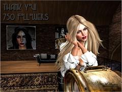 750 Followers (Meg Miggins) Tags: secondlife folowers thankyou