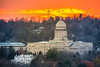 Kentucky State Capitol Building & Governor's Mansion (sniggie) Tags: frankfort kentucky capitolbuilding dome dusk governorsmansion lateautumn sunset