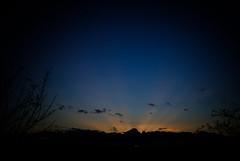 Vignette Sunset (velodenz) Tags: velodenz fujifilmx100f fujiusers fujifilm x100f vignette sunset rays blue orange yellow twilight 20171208dscf17913 saltford bristol banes bnes england united kingdom uk great britain gb views repostmyfuji repostmyfujifilm fuji xseries 2000 2000views skyscape