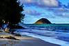 Winward side of Oahu (DreamExpose) Tags: hawaii beach coastline mountain wave treeinthepicture shore water ocean landscape nature view