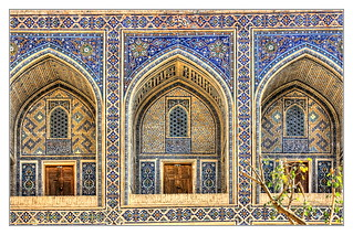 Samarqand UZ - Registan Ulugbek-Madrasa 06