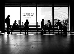 back again ! hello my friends (ThorstenKoch) Tags: street streetphotography strasse stadt schatten shadow silhouette summer sun sonne schwarzweiss licht lights lines linien light lisbon lissabon lisboa pov photography people photographer portugal airport blackwhite monochrome