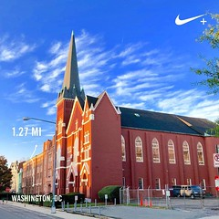 Arrived @StartMoveLive #StartMoveLive via #activetransportation & #TheFuture 🚶Vermont Avenue Baptist Church #Shaw