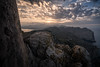 another sundown (Rafael Zenon Wagner) Tags: sonnentuntergang sonne abend berge felsen klippen panorama wolken meer stimmung blau natur mallorca sunset sun evening mountains rocks cliffs clouds ocean atmosphere drunk nature majorca 15mm laowa