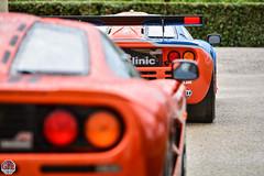 McLaren F1 GTR + F1 (GPE-AUTO) Tags: mclaren f1 25th anniversary mclarenf1 mclarenf1tour mclarenf1ownertour mclarenf1gtr mclarenf1longtail mclarenp1 mclarenp1gtr mclarenp1lm p1 p1lm f1longtail f1gtr mcf125 f125th celebration rallye rally bordeau france nikon d7100 nikond7100 chateau castle voiture route