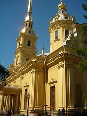 St. Petersburg, Russia (nesoni2) Tags: peter paul petropavlovskaya krepost saint petersburg sankt russia orthodox church
