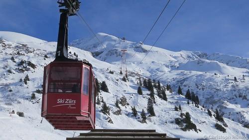 Arlberg - Zürs - Trittkopfbahn