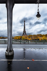 Bir Hakeim-Paris (Stéphane Lollivier) Tags: paris tour eiffel pont birhakeim france automne feuille