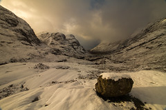 The Pass of Glencoe (RichRobson) Tags: glencoe scotland passofglencoe study snow talkphotography stunning landscape canon mountains 3sisters