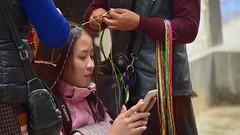 Latest fashion in Lhasa, Tibet 2017 (reurinkjan) Tags: tibetབོད བོད་ལྗོངས། 2017 ༢༠༡༧་ ©janreurink tibetanplateauབོད་མཐོ་སྒང་bötogang tibetautonomousregion tar ütsang lhasa latestfashioninlhasa aceགདོང་པ་dongpa གདོང༌dong གདོང་ཁdongkha portrait portraiture facecolorགདོང་མདོགdongdok portrayal picture photograph likeness