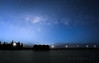 The Milky Way Over Busselton (Dan and Holly) Tags: night milkyway landscape constrast nature australia stars rural astronomy light danandhollythompson nightsky blue nightphotography busseltonjetty sea nightimages busselton water beach sky black nightscape danandhollycom starscape constellations contrast