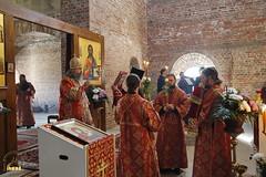 47. Первое богослужение в храме г.Святогорска 30.09.2014