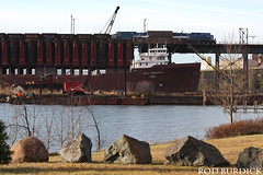 lat12317dklsiPI_rb (rburdick27) Tags: locomotive presqueislepark marquette lakesuperior scenicmichigan leeatregurtha interlakesteamshipcompany
