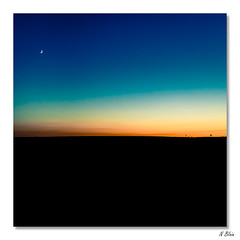 Basic Picture... (Blain Nicolas) Tags: soiree nblain nicolasblain blain blainn lune france normandie normandy